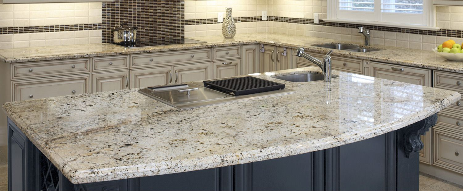 A-gorgeous-granite-countertop-white-kitchen