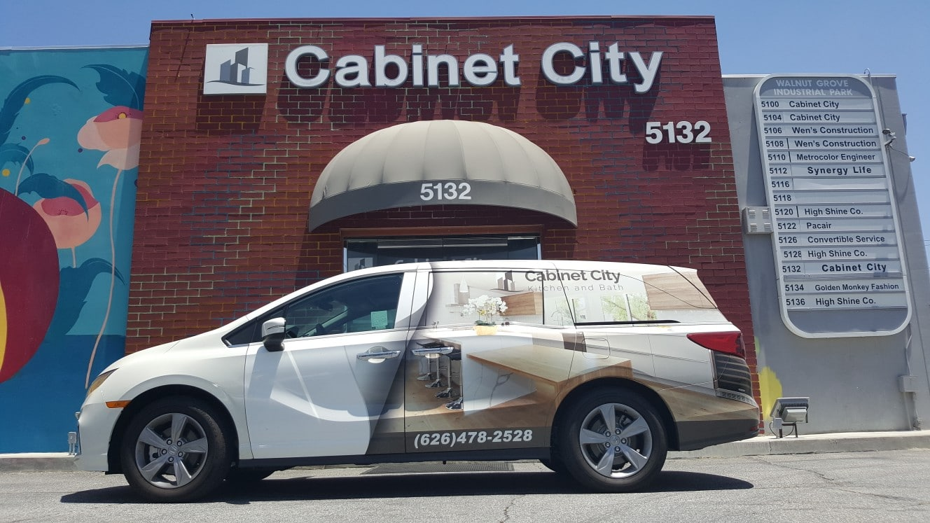 cabinet-city-giveaway-new-delivery-van-storefront