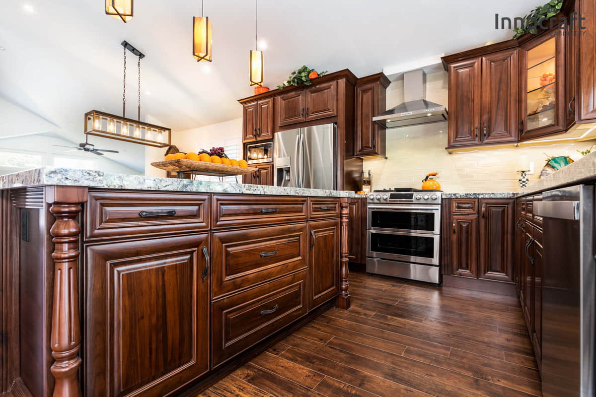 American Walnut RTA Cabinets | Cabinet City Kitchen and Bath